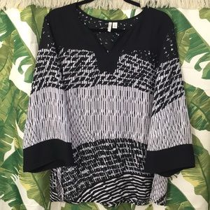 CATO b&w top, great for work